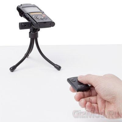 Диктофон Olympus LS-20M с записью видео в Full HD