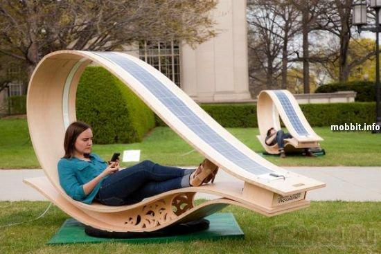 Кресла на солнечных батареях
