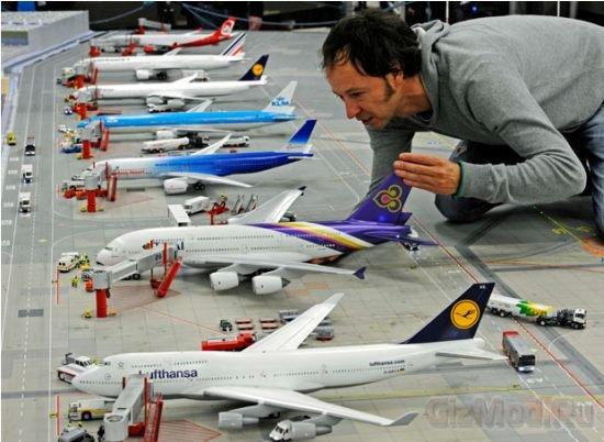 """Самый большой действующий """"игрушечный"""" аэропорт"""