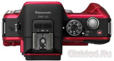 Камера Panasonic DMC-G3 официально
