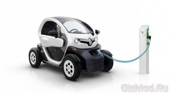 Электрокар Renault Twizy можно заказать