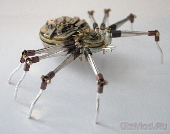 Насекомые в стиле стимпанк Arthrobots