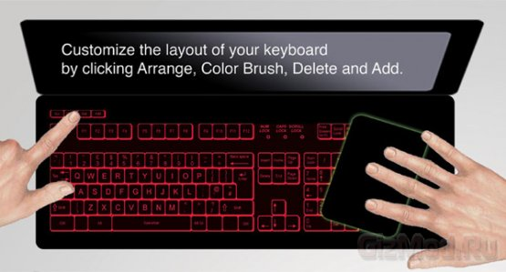 Keyless Lifebook - концепт клавиатуры на любой вкус