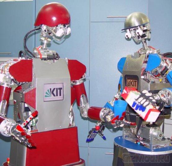 Робот ARMAR-III наблюдает и учится