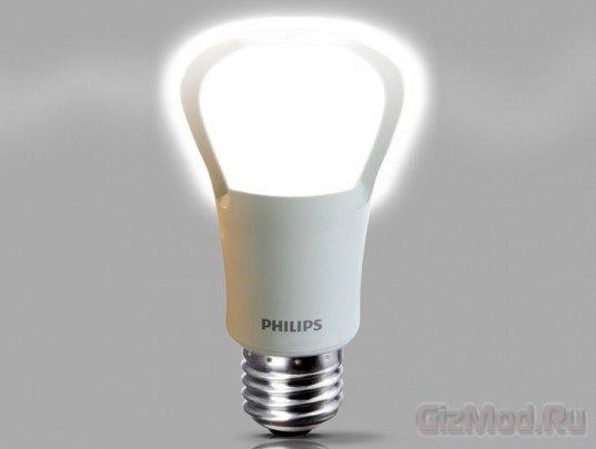 Cветодиодная лампочка - Philips EnduraLED A21 за $45