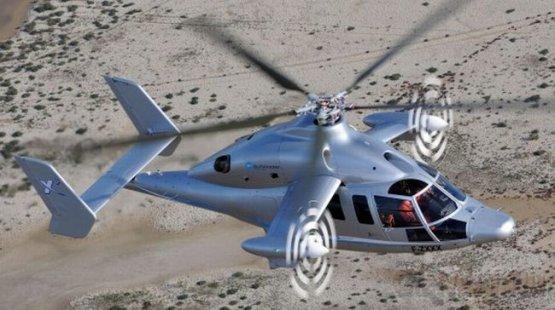 Вертолет Eurocopter X3 поставил новый рекорд