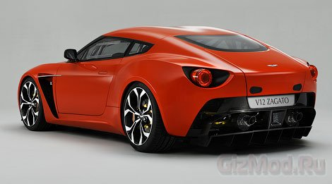 Новоиспеченный суперкар V12 Zagato
