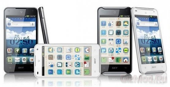 Pantech Vega Racer – смартфон с 1.5ГГц двухъядернником