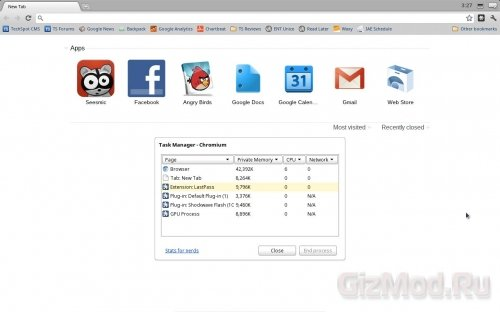 Пробный запуск Chrome OS