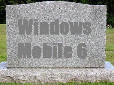 Windows Mobile 6 лишают поддержки
