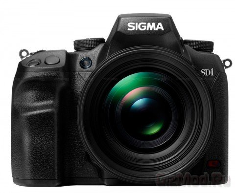 На рынок выходит 46-Мп камера Sigma SD1