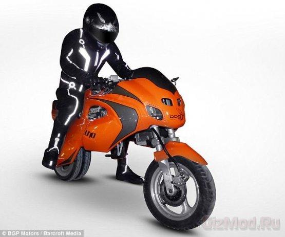Электрический байк-трансформер Uno III Streetbike