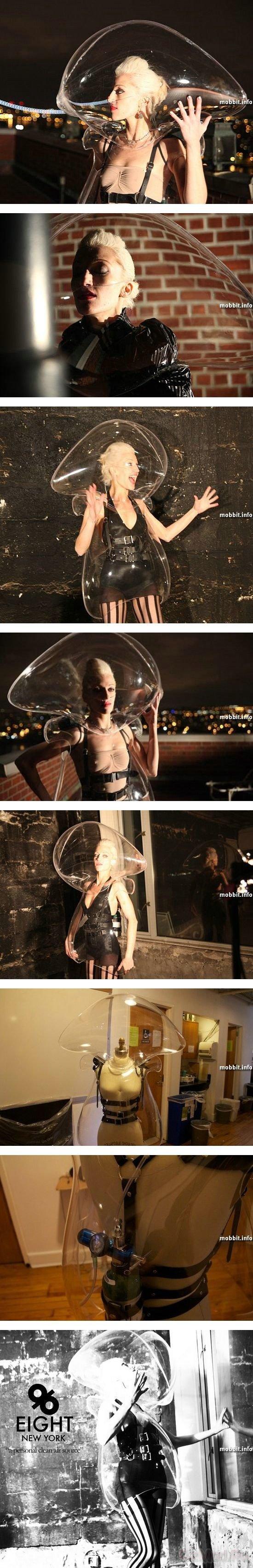 Модное кислородное платье:)