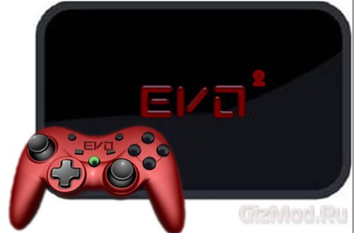 Игровая консоль EVO 2 под управлением Android