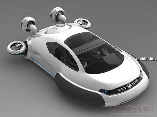 Концептуальный Volkswagen на воздушной подушке