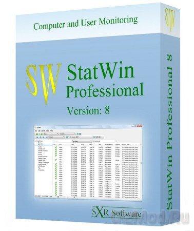 StatWin Pro 9.0.5 - статистика работы ПК