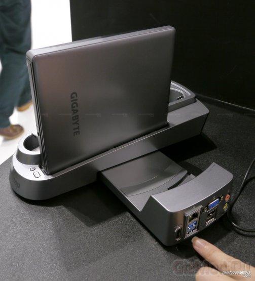 """3 in 1"" компьютер Gigabyte Booktop T1125P"