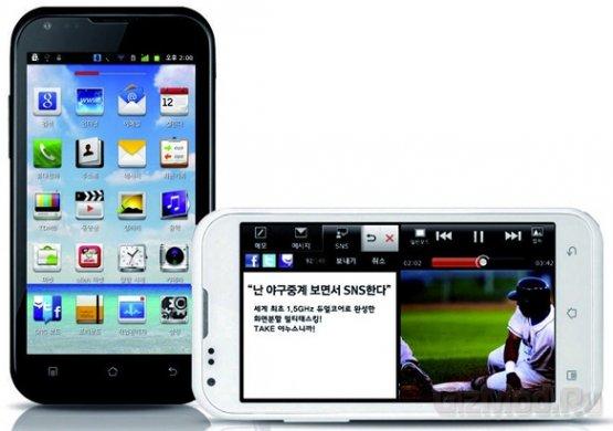 Коррейский 1,5 ГГц двухъядерный смартфон TAKE Janus