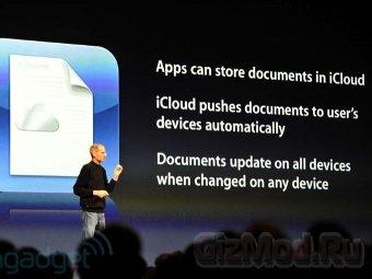 Джобс аннонсировал музыкальный сервис Apple iCloud