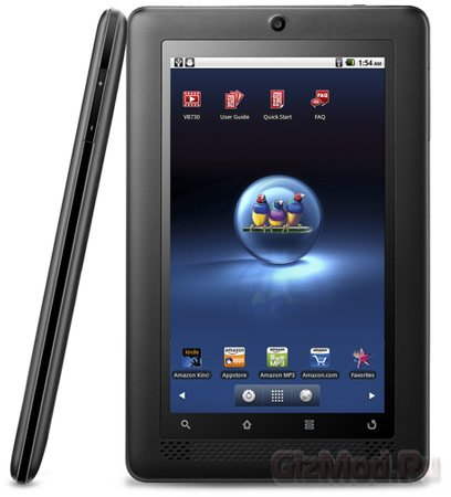 Планшет ViewSonic ViewBook 730 стоимостью $250