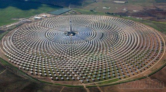Первая круглосутачная солнечная электростанция
