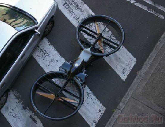 "Летающий ""не знамо что"" Hoverbike"
