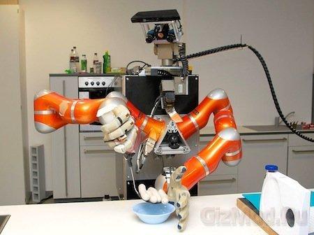 Роботов научили готовить сосиски