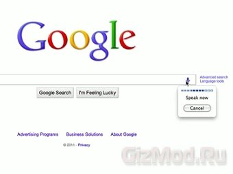 Google вводит голосовой поиск на ПК