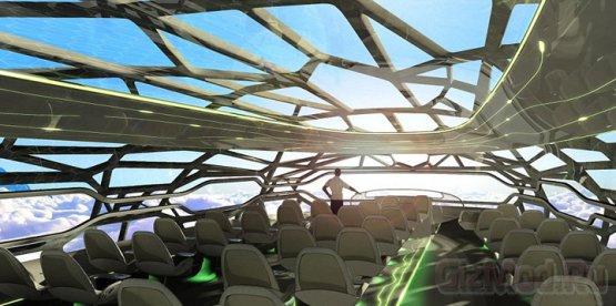 Прозрачные самолеты будущего Airbus