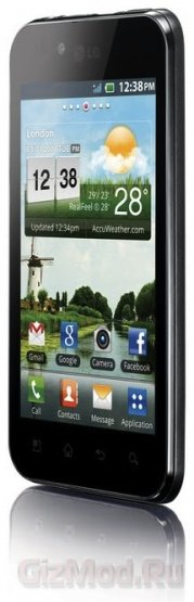 LG Optimus Black с дисплеем NOVA теперь в России