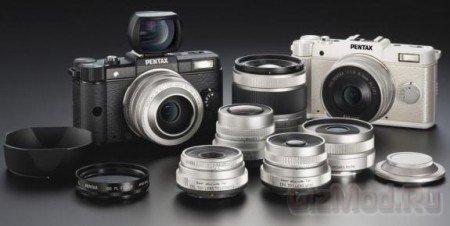 Самая компактная камера Pentax со сменными линзами