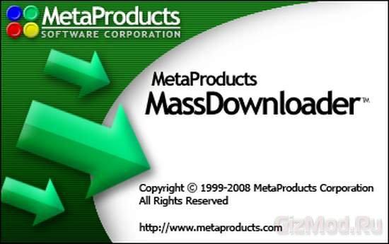 Mass Downloader v.3.8 Build 850 - диспетчер закачек