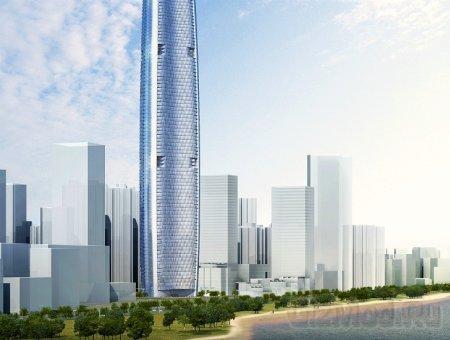В Китае построят одно из самых высоких зданий в мире