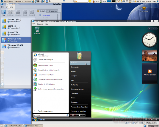 VirtualBox 4.0.10 - комплексная виртуализация