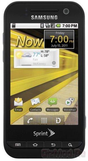 Samsung Conquer 4G смартфон с поддержкой WiMAX