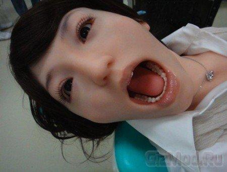 Робот Hanako 2 на помощь дантистам