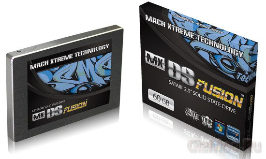 Mach Xtreme MX-DS FUSION: 60 ГБ SSD за 89 €