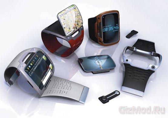 """""""Полноценный"""" смартфон на запястье WristPC"""