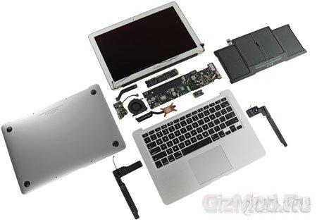 Новые MacBook Air подверглись вскрытию
