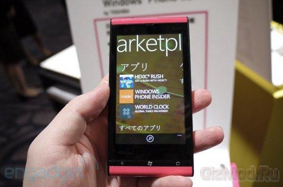 Первый смартфон на Windows Phone 7 Mango
