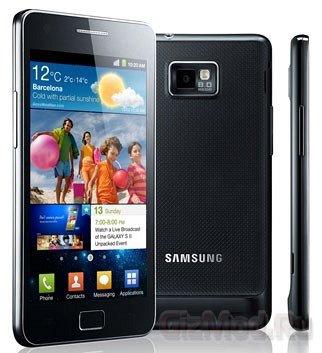 5 млн Galaxy S II продано за три месяца