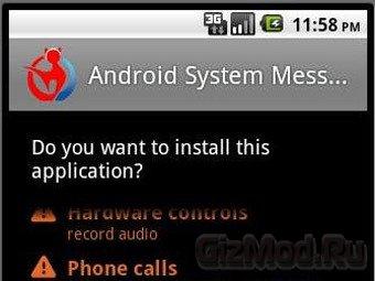 Android-вирус записывает разговоры