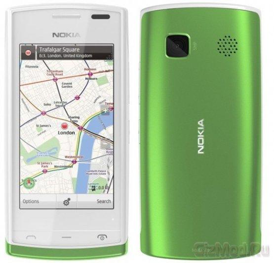 Смартфон на Symbian Anna Nokia 500