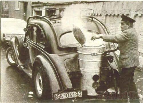 Газогенераторные автомобили