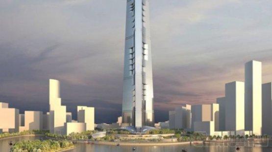 Гиганский королевский небоскреб Kingdom Tower