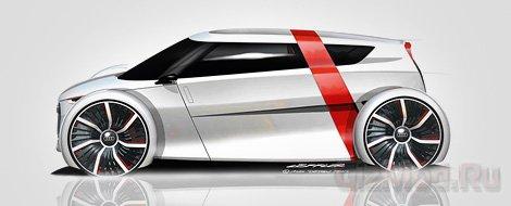 Засветился городской электроконцепт Audi