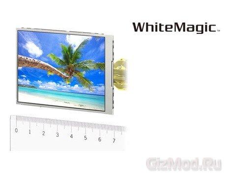 Новое поколение дисплеев Sony WhiteMagic