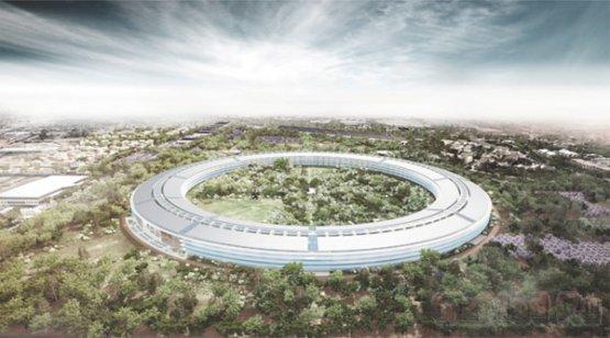 Свежие подробности о новой штаб-квартире Apple