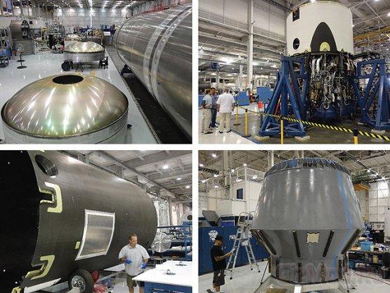 Частный челнок SpaceX отправиться к МКС в этом году