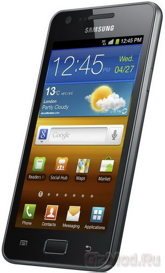 Samsung Galaxy R поступил в продажу в России